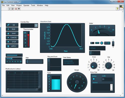 Lux UI Controls Suite